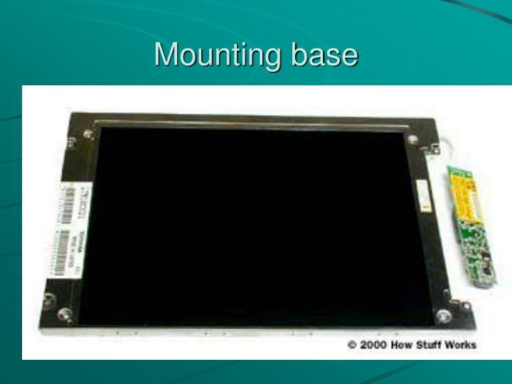 Mounting base