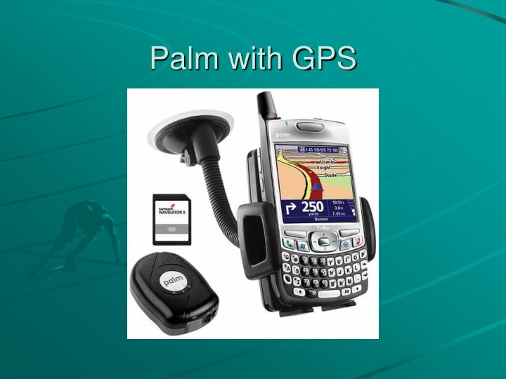 Palm with GPS