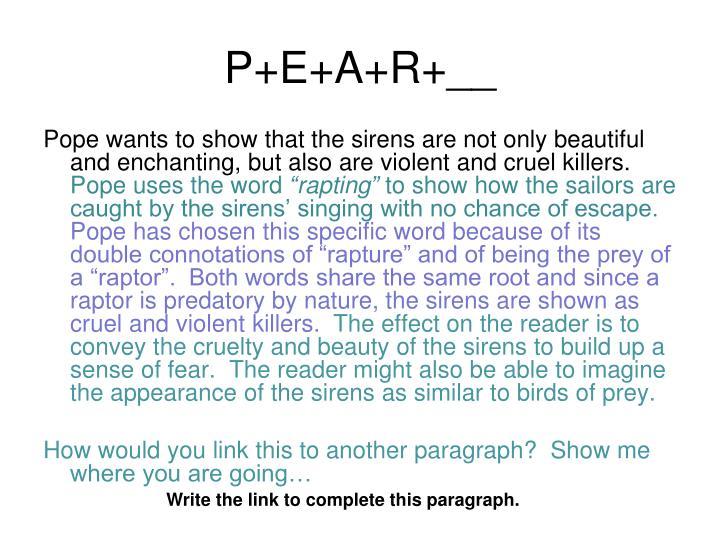 P+E+A+R+__