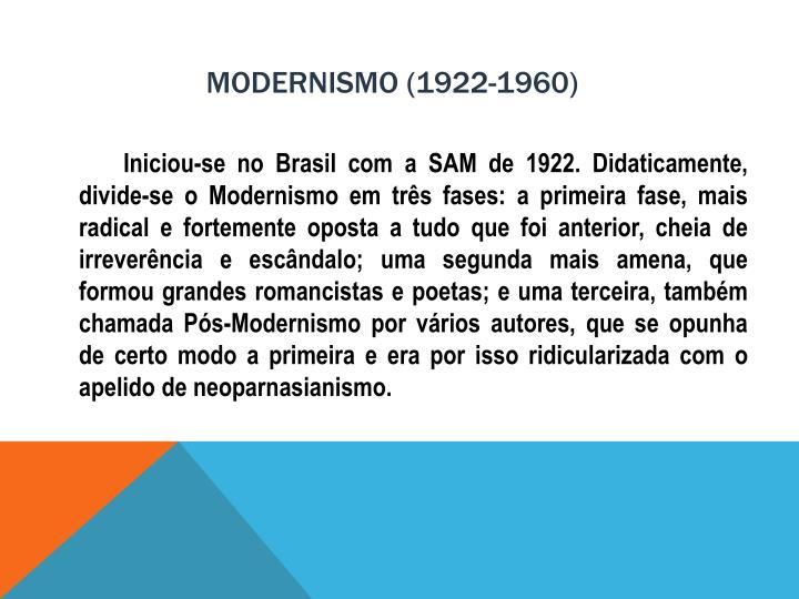 Modernismo 1922 1960