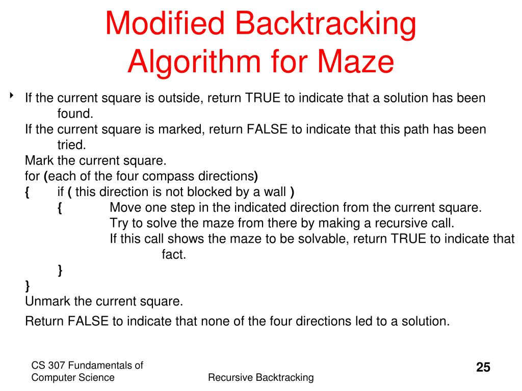 PPT - Topic 10 Recursive Backtracking PowerPoint