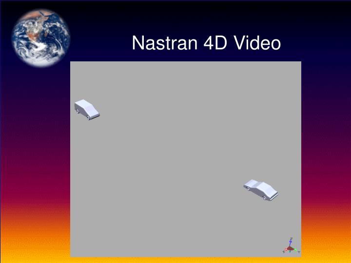 Nastran 4D Video