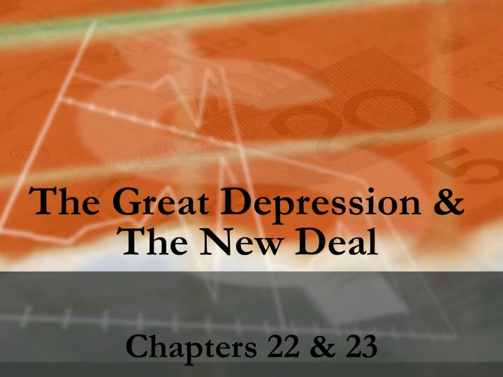 The Great Depression &