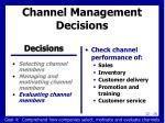 channel management decisions3