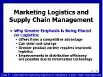 marketing logistics and supply chain management2