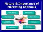 nature importance of marketing channels3