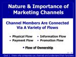 nature importance of marketing channels6