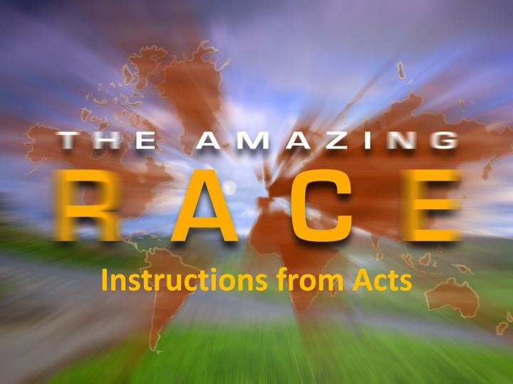 instructions from acts n.