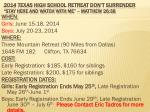 2014 texas high school retreat don t surrender stay here and watch with me matthew 26 38