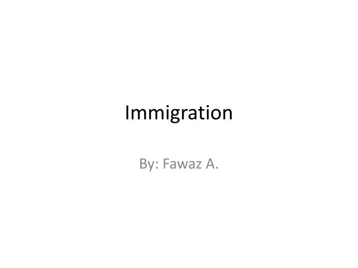 an introduction to the history of immigrants coming to america As during other times in our history, immigrants the pull for immigrants to come to america healthcare status for illegal immigrants - introduction in.