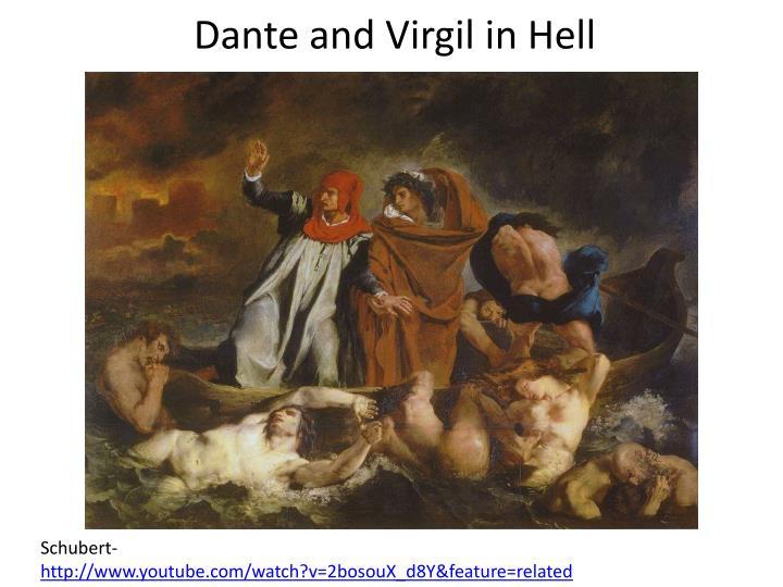 visual analysis dante and virgil in