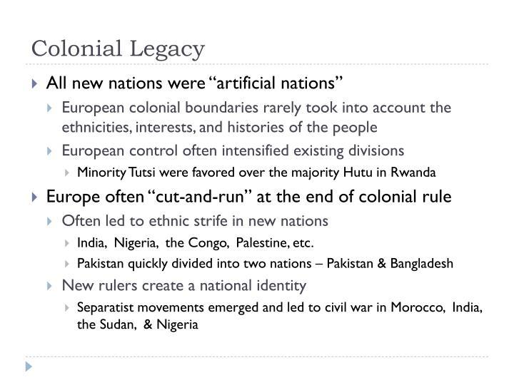 Colonial Legacy