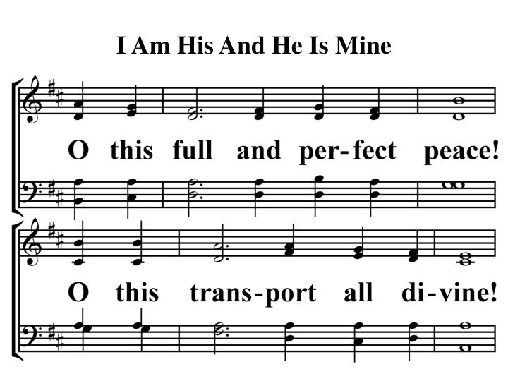 I am his and he is mine2
