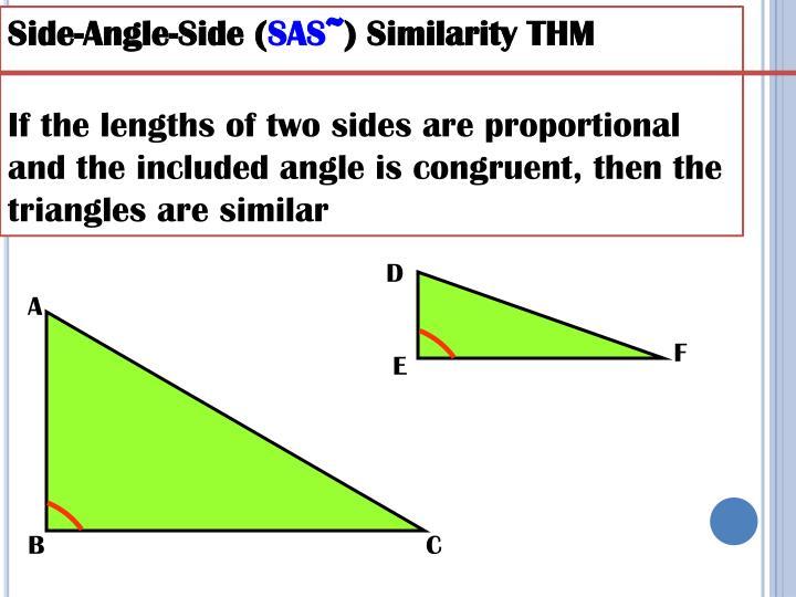 Side-Angle-Side (