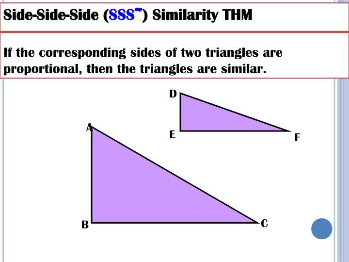 Side-Side-Side (