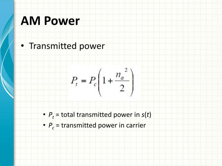 AM Power