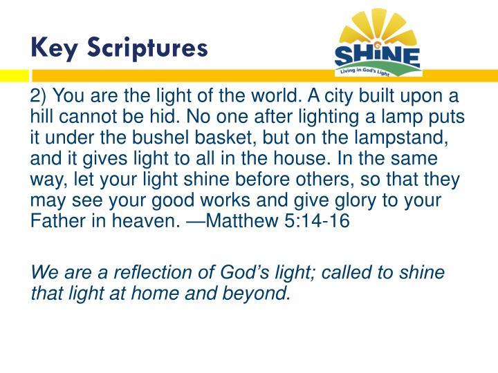 Key s criptures