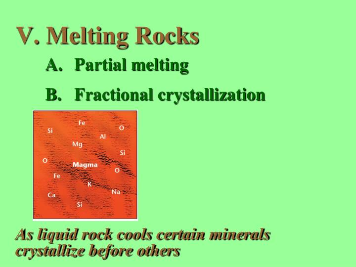 Melting Rocks