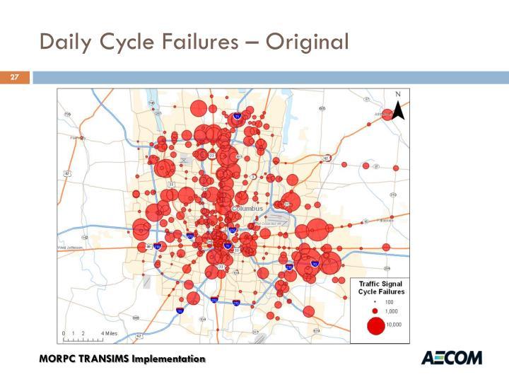 Daily Cycle Failures – Original