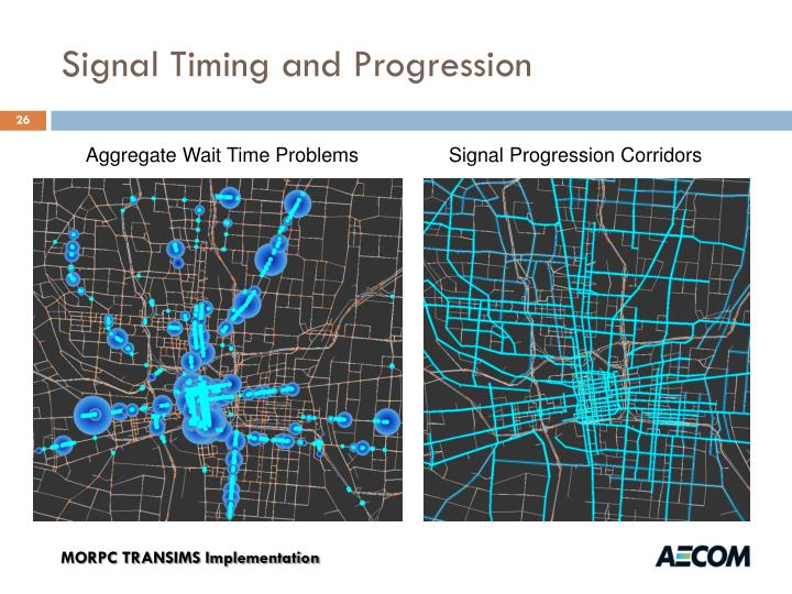 Signal Timing and Progression