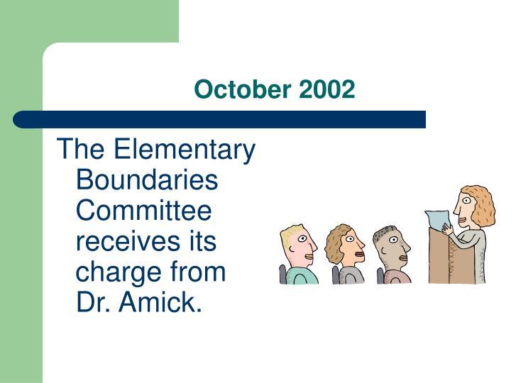 October 2002