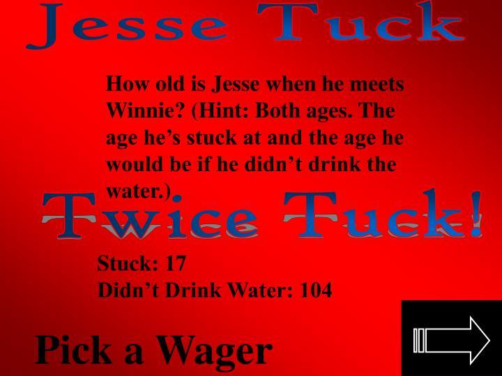 Jesse Tuck