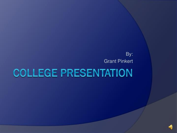 college powerpoint presentation College course presentation template for powerpoint is a free template that professors can use to show their students course objectives and requirements.