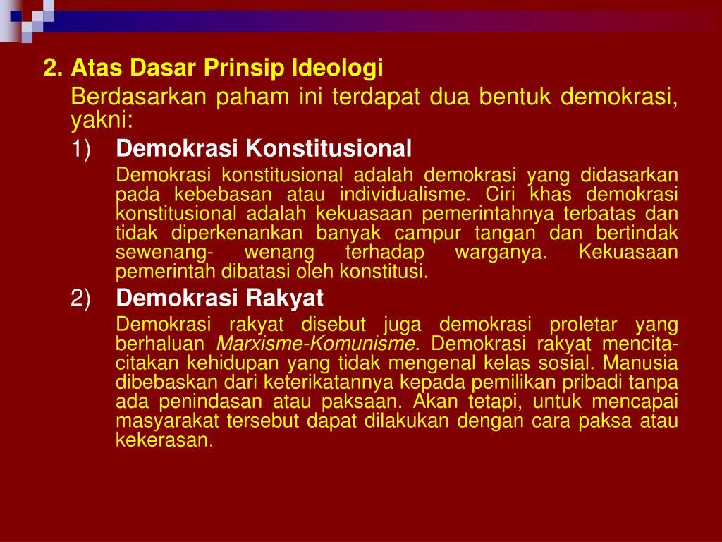 PPT - Budaya Demokrasi Menuju Masyarakat Madani PowerPoint ...