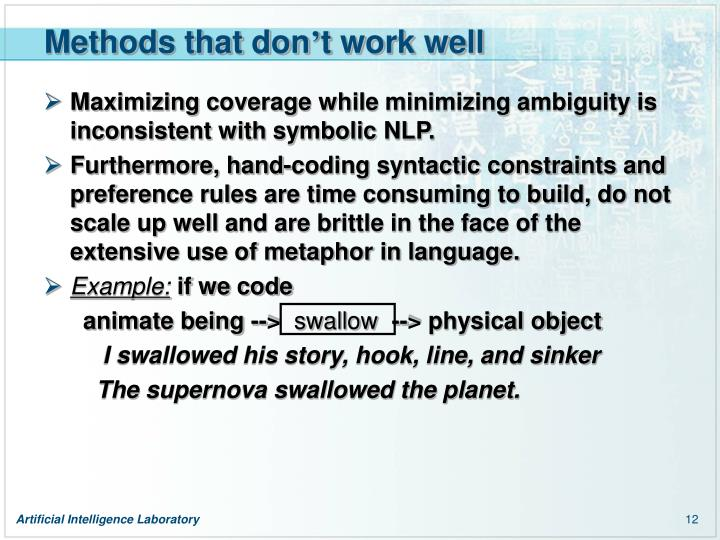 Methods that don
