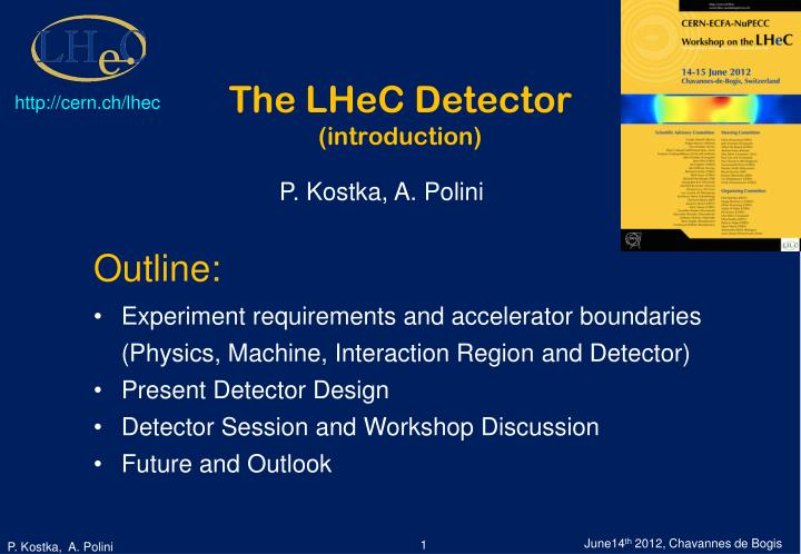 the lhec detector introduction n.