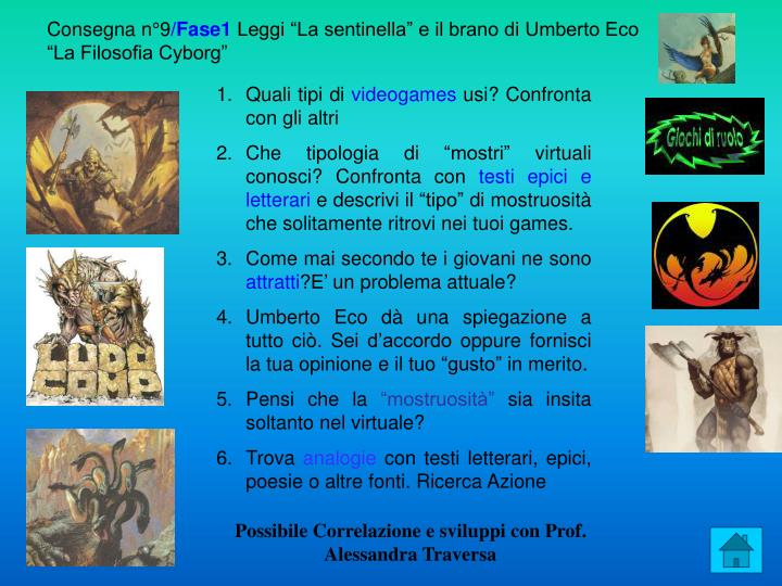 Consegna n°9