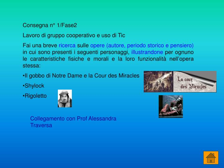 Consegna n° 1/Fase2
