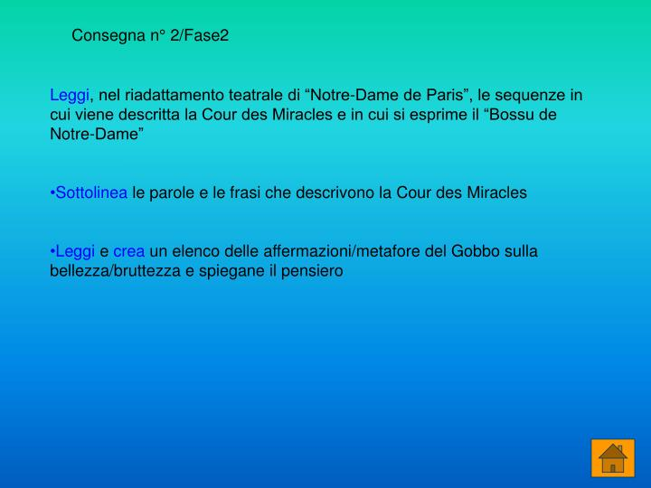 Consegna n° 2/Fase2