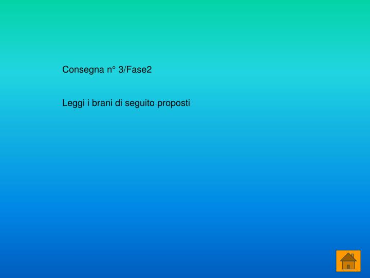 Consegna n° 3/Fase2