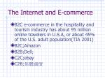the internet and e commerce