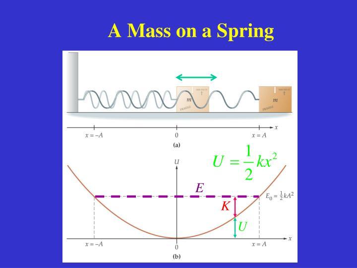 A Mass on a Spring