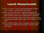 lowell massachusetts