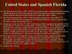 united states and spanish florida