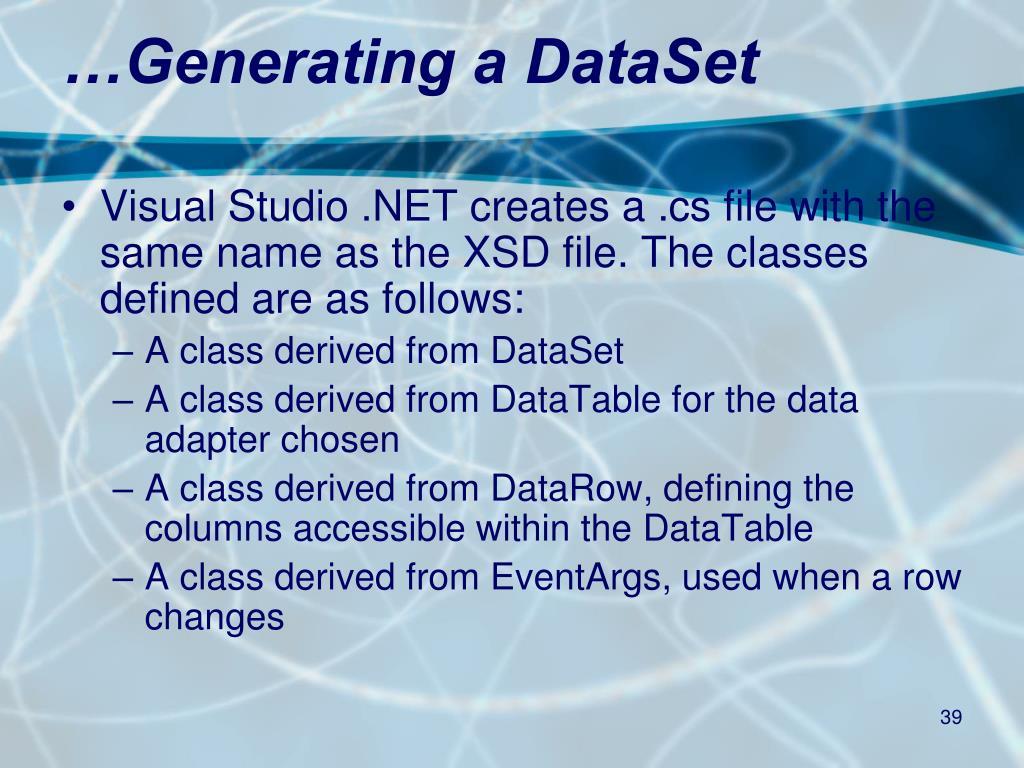 PPT - Viewing  NET Data PowerPoint Presentation - ID:5458274