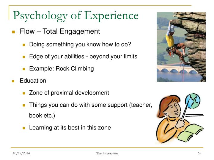Psychology of Experience
