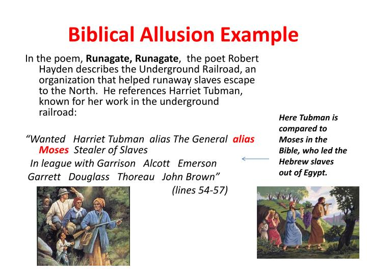Ppt Allusions In Literature Powerpoint Presentation Id5458548