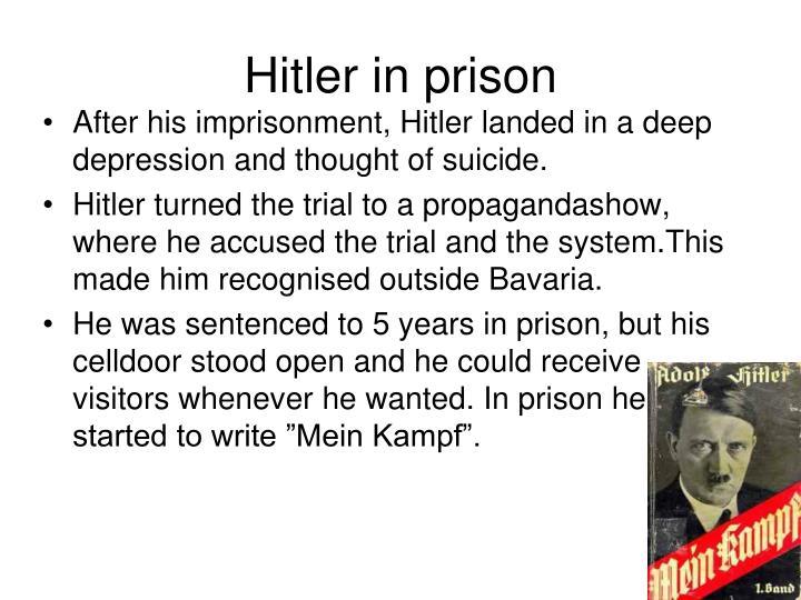 Hitler in prison
