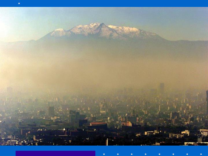 Mountains affect on Mexico City
