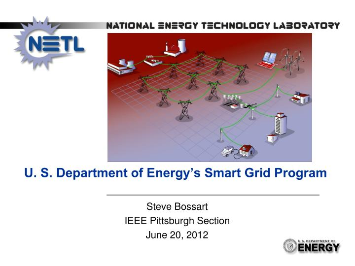 u s department of energy s smart grid program n.