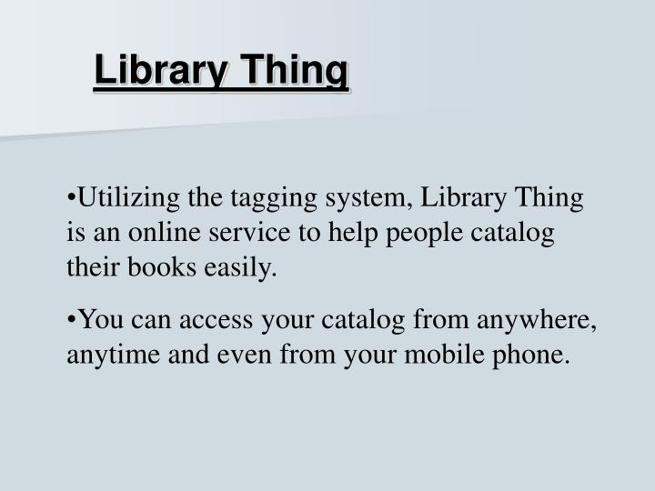 Library Thing