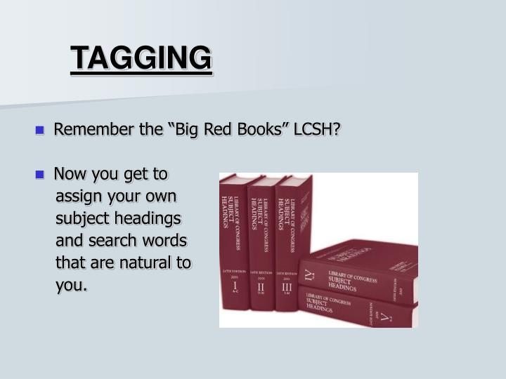 Tagging1