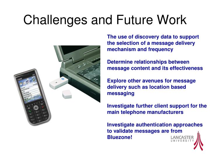 Challenges and Future Work