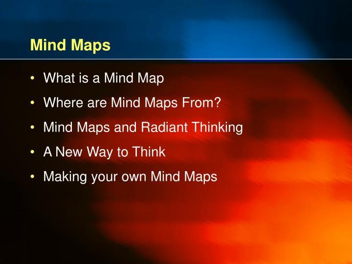 Mind maps1