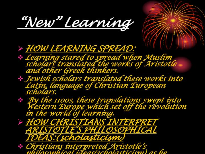 """""""New"""" Learning"""