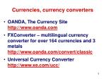 currencies currency converters